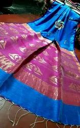 Hand Made Matka Silk Saree