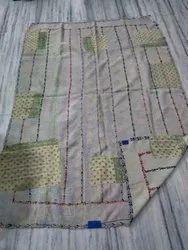 Indian Designer Vintage Kantha Quilt
