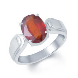 Hessonite Gomed Ring