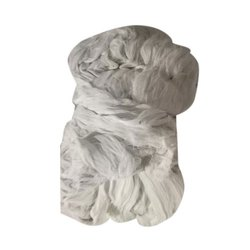 White Polyester Yarn Waste, Packaging Type: PP Sack, for Textile Industry