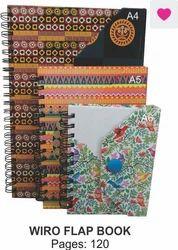 Wiro Flap Note Book
