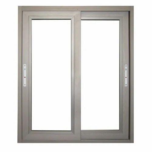 Aluminium Residential Aluminum Sliding Window, For Home, Office
