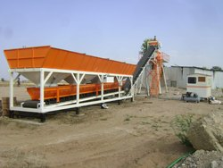 AASPA Non- Tilting Drum Mixer Ready Mix Concrete Machine, Output Capacity: 480 Litres, Model Name/Number: AET 45