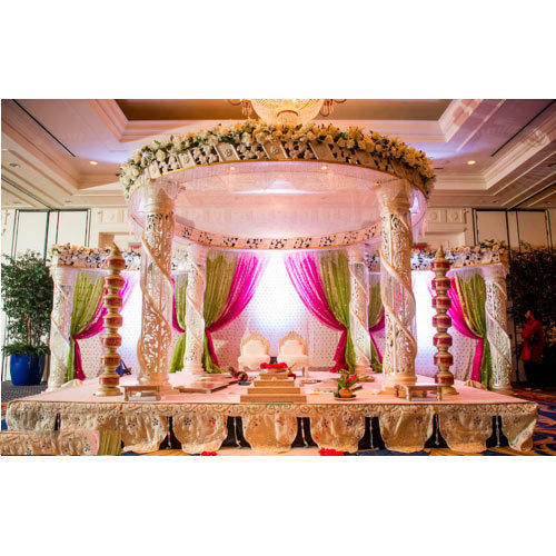 Modern Indian Wedding Mandap