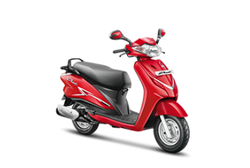 Candy Blazing Red Duet Two Wheeler
