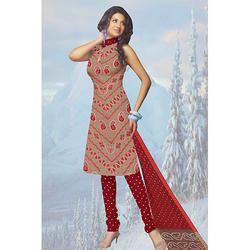 Casual Bandhani Print Suit