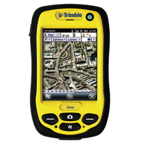 Trimble DGPS Systems - Juno 3B And Juno 3D Handheld