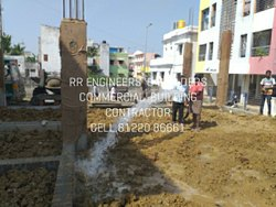 Concrete Frame Structures Prefab Commercial Construction Service
