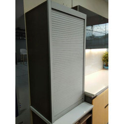Imported Silver Kitchen Cupboard