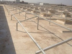 Solar Mounting Structure GI Pipe