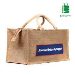 Biodegradable Rectangular Jute Bag