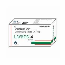 Ondansetron Orally Disintegrating Tablets Ip 4 Mg - Lavron-4