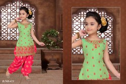 Kids Patiala Suit