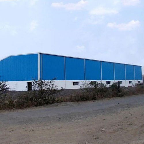 Steel Prefab Color Coated Warehouse Sheds