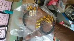 nee Sma Connector, Cable Mount, Contact Material: Gold