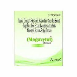Omega-3 Fatty Acid, Lycopene 5000 mcg & Astaxenthin 1.8 mg Capsules