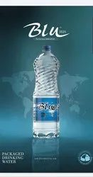 Blu Normal Packaged Drinking Water, Capacity: 1 Ltr, Packaging Type: Cartoons