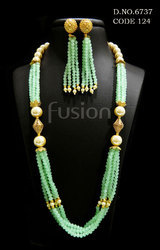 Beaded Mala Necklace Set