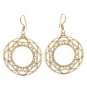 Blonde Handmade Beautiful Designing Fashionable Brass Gold Plated Earring