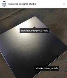 Stainless Steel PVD TI Bead Blast Sheet