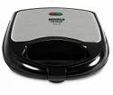 Premium Black And Silver Maharaja Whiteline Viva Dlx Sandwich Maker