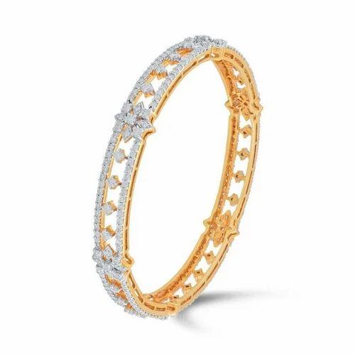 a4f53aec73bedf HQ Diamonds Designer Diamond Bangle, Rs 150000 /set, HQ & Company ...