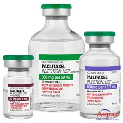 Paclitaxel Injection, 50 Ml , Packaging Type: Vial