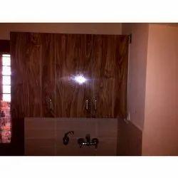 Wooden Rectangular Modular Glossy Kitchen Cabinets