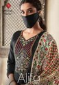 Tanishk Fashion Alifa Vol-2 Jam Satin Plazzo Style Suits Catalog
