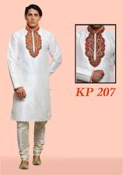 Traditional embroidery Kurta Pajamas