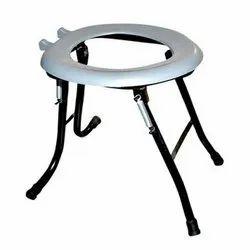 PVC Round Commode Stool