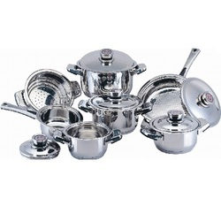 Perfect Silver Stainless Steel Kitchenware, For Kitchen
