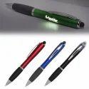 LED Light Lighting Up Laser Logo Pen