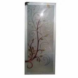 Rectangle Acid Texture Art Glass, Thickness: 2-5 Mm