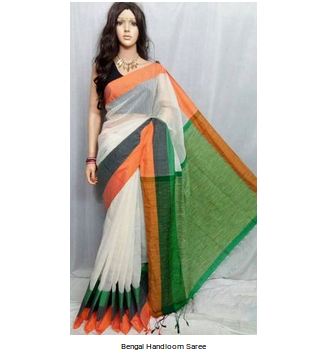 30dba0c68 Jayashree Textiles Multicolor Bengal Handloom Saree