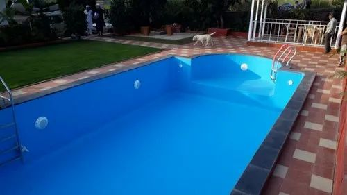 Liner Swimming Pool for Hotel, Capacity: 10 people