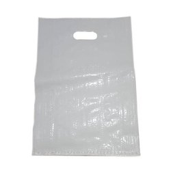 Recyclable Plain HDPE D CUT BAG, for Shopping, Capacity: 1-10Kg