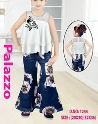 Kids Girls Fancy Palazzo Dress