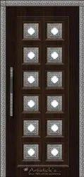 Pooja Room Door Design in Interior Designers