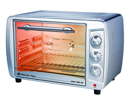 Bajaj Majesty 3500 Tmcss 35 Liter Oven Toaster Griller at Rs