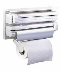 4 in 1 Foil Cling Film Tissue Paper Roll Holder
