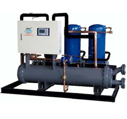 Single Phase Automatic Portable Chiller System, Capacity: 6 - 40 TR