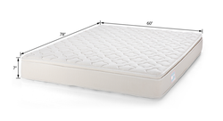 Kinkob EPE+ Foam Spring Bed Mattress, For Home,Hotel, Size/Dimension: 78' * 60' * 4