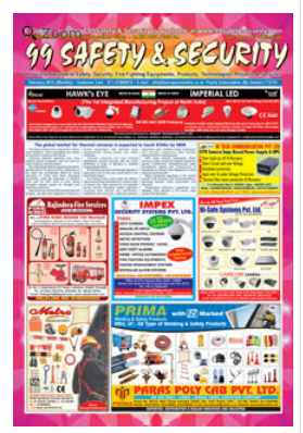99 Safety And Security Business Newspaper In Faridabad Faridabad