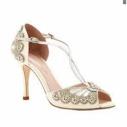 Rohit Shoe Wedding Wear Fancy Bridal Sandal, Size: 6-9