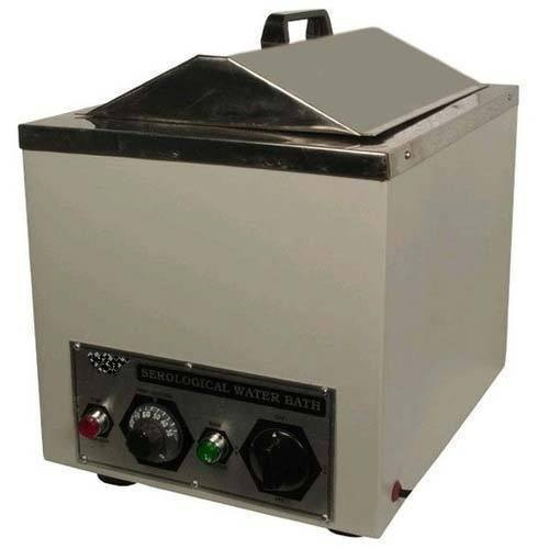 Ambient to 90 Deg C Rectangular Serological Water Bath, For Laboratory, 220 - 230 V