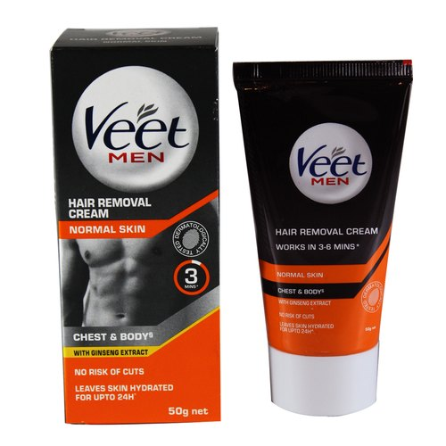 Veet For Men Hair Removal Cream 50 Gm Normal Skin Veet For Men