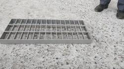 Glass Bead Blasted SS Gratings