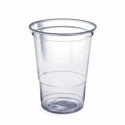 Transparent Plain 200 ml Disposable Plastic Glass, 3 - 10 Mm