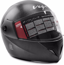 Female Full Face Vega Cliff Helmets, Size: M